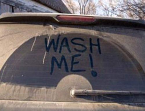 Spelar det någon roll när jag tvättar bilen?